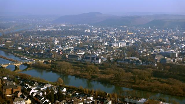 Trier von der Mariensäule