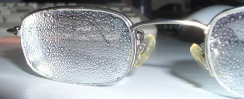 Brillenintransparenz